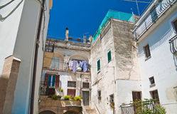 Alleyway. Altamura. Puglia. Italy. Stock Images