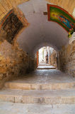 alleyway andria La Puglia L'Italia Immagini Stock