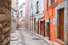 alleyway andria La Puglia L'Italia Fotografie Stock