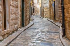 alleyway andria La Puglia L'Italia Fotografia Stock Libera da Diritti
