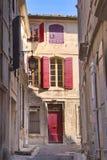 Alleyway, Arles zdjęcie royalty free