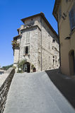 Alleyway. Assisi. Umbria. Royalty Free Stock Images
