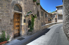 Alleyway. Assisi. Umbria. Stock Photography