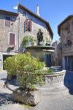 Alleyway. Bagnaia. Lazio. Italy. Alleyway of Bagnaia. Lazio. Italy royalty free stock images