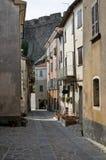 Alleyway. Bardi. L'Emilia Romagna. L'Italia. Immagine Stock