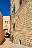 alleyway bari La Puglia L'Italia Immagini Stock Libere da Diritti