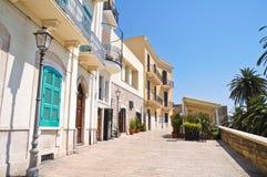 alleyway bari Puglia Italië stock fotografie