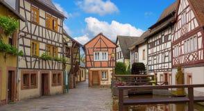 Free Alleyway Beside Millstream, Pictorial Annweiler Village, Saarlan Royalty Free Stock Photography - 54504297