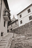 Alleyway. Bevagna. L'Umbria. Immagini Stock Libere da Diritti