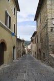 Alleyway. Bevagna. L'Umbria. Fotografie Stock