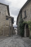 Alleyway. Bevagna. Umbria. Royalty Free Stock Photos