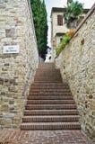 Alleyway. Bevagna. Umbria. Italy. Stock Image