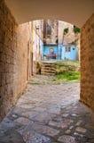 alleyway Bisceglie La Puglia L'Italia Immagini Stock