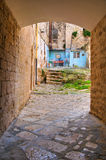 Alleyway. Bisceglie. Puglia. Italy. Stock Images