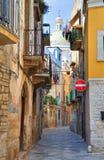 Alleyway. Bitetto. Puglia. Italy. Royalty Free Stock Photo