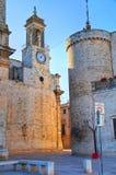 alleyway Bitritto La Puglia L'Italia Fotografia Stock