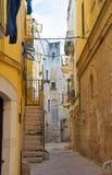 alleyway Bitritto La Puglia L'Italia Immagine Stock