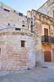 Alleyway. Bitritto. Puglia. Italy. Stock Photo