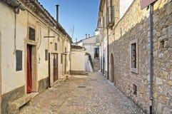 Alleyway. Bovino. Foggia. Apulia. Fotografia Stock Libera da Diritti