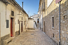 Alleyway. Bovino. Foggia. Apulia. Royalty Free Stock Photography