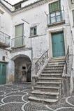 Alleyway. Bovino. Foggia. Apulia. Immagini Stock