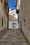 Alleyway. Bovino. Foggia. Apulia. Fotografie Stock Libere da Diritti