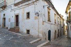 alleyway Bovino La Puglia L'Italia Immagini Stock
