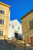 alleyway Bovino La Puglia L'Italia Fotografie Stock