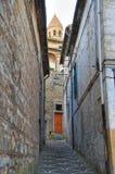 alleyway Bovino Puglia Italië royalty-vrije stock foto's