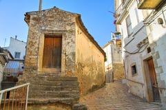 Alleyway. Bovino. Puglia. Italy. Royalty Free Stock Image