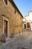 Alleyway. Bovino. Puglia. Italy. Royalty Free Stock Photos
