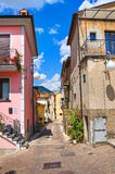 Alleyway. Brienza. Basilicata. Italy. Stock Images