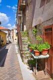 alleyway Brienza La Basilicata L'Italia Fotografie Stock Libere da Diritti