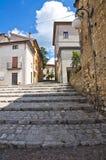 alleyway Brienza La Basilicata L'Italia Fotografia Stock Libera da Diritti