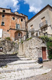 alleyway Brienza La Basilicata L'Italia Fotografia Stock