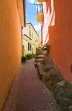 alleyway Brienza La Basilicata L'Italia Immagine Stock
