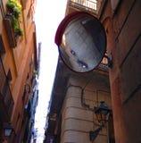 Alleyway between buildings Royalty Free Stock Photo