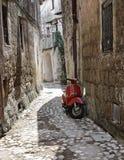 Alleyway. Calcata. Lazio. Italy. Stock Photo