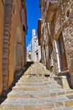 alleyway Cancellara La Basilicata L'Italia Fotografia Stock