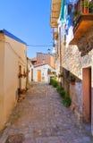 alleyway Cancellara La Basilicata L'Italia Immagine Stock