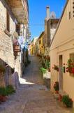 alleyway Cancellara La Basilicata L'Italia Immagini Stock Libere da Diritti