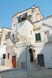 Alleyway. Castellaneta. Puglia. Italy. Royalty Free Stock Photo