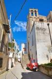 Alleyway. Castellaneta. Puglia. Italy. Stock Image