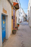 Alleyway. Castellaneta. Puglia. Italy. Stock Photography