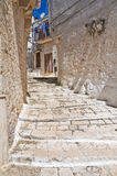 Alleyway. Ceglie Messapica. Puglia. Italy. Stock Images