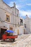 Alleyway. Ceglie Messapica. Puglia. Italy. Royalty Free Stock Photos