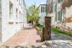 Alleyway in Charleston, SC Stock Photo