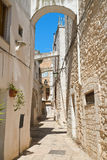 Alleyway. Cisternino. Puglia. Italy. Royalty Free Stock Images