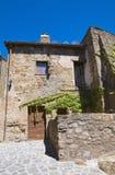 Alleyway. Civita di Bagnoregio. Il Lazio. L'Italia. Immagine Stock