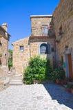 Alleyway. Civita di Bagnoregio. Il Lazio. L'Italia. Immagini Stock